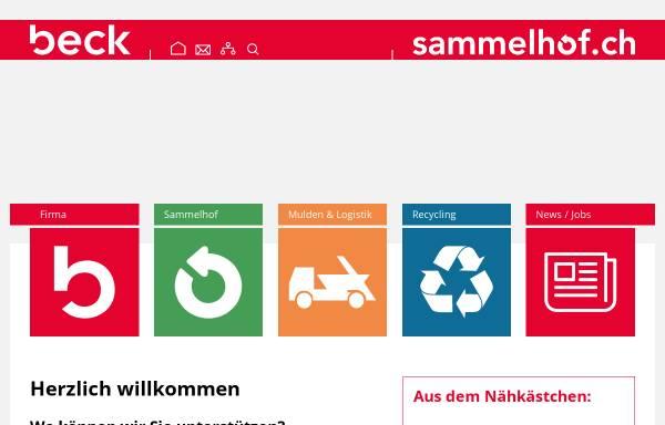 Vorschau von www.beck-co.ch, Beck & Co.