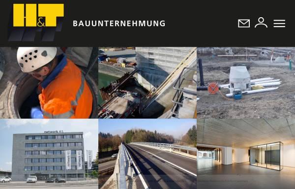Vorschau von ht-sursee.ch, Hoch- & Tiefbau AG