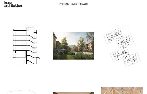 Vorschau von kunzarchitekten.ch, Kunz Architekten