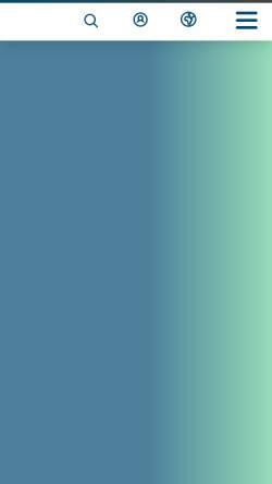 Vorschau der mobilen Webseite www.survalyzer.com, Survalyzer AG