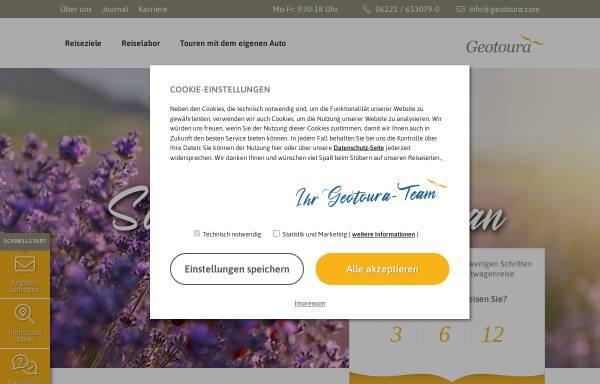 Vorschau von www.geotoura.com, Geotoura GmbH