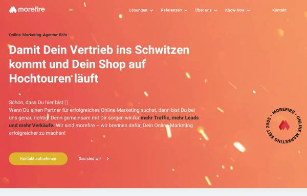Vorschau von www.more-fire.com, rankingCHECK GmbH