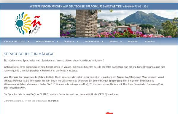 Vorschau von www.spanisch-lernen-in-spanien.de, Spanischkurse in Malaga