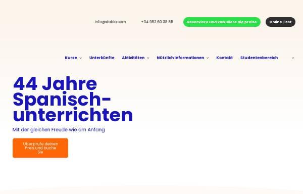 Vorschau von www.debla.de, Debla