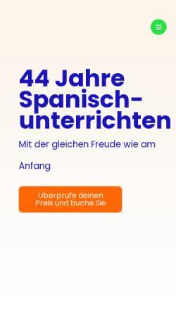 Vorschau der mobilen Webseite www.debla.de, Debla