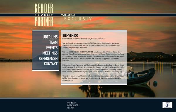 Vorschau von mallorca-eventagentur.de, Mallorca Exklusiv - Kehder und Eventpartner