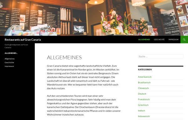 Vorschau von www.restaurants-gran-canaria.de, Restaurants auf Gran Canaria