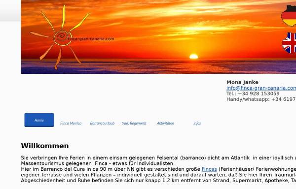 Vorschau von www.finca-gran-canaria.com, Finca Monica Gran Canaria