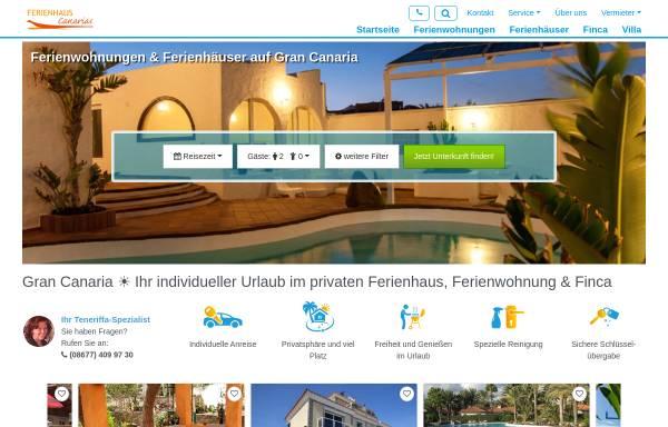 Vorschau von www.gran-canaria.ferienhaus-canarias.net, Ferienhaus Canarias
