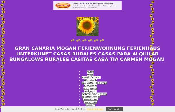 Vorschau von casa_tia_carmen_mogan.beepworld.de, Casa Tia Carmen