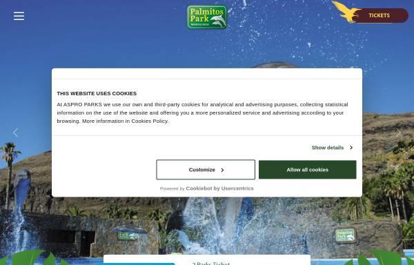 Vorschau von www.palmitospark.es, Palmitos Park