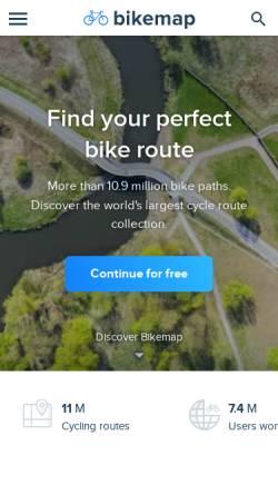 Vorschau der mobilen Webseite www.runmap.net, Runmap - Gran Canaria