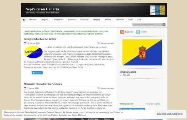 Vorschau von insel-grancanaria.com, Nepis Gran Canaria