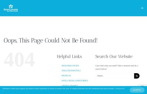 Vorschau von www.grancanariawellness.com, Spa, Wellness und Gesundheitsangebote auf Gran Canaria