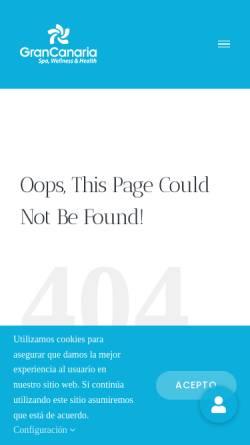 Vorschau der mobilen Webseite www.grancanariawellness.com, Spa, Wellness und Gesundheitsangebote auf Gran Canaria