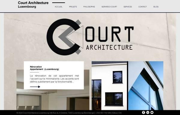 Vorschau von www.court-atelier.com, Court Architecture