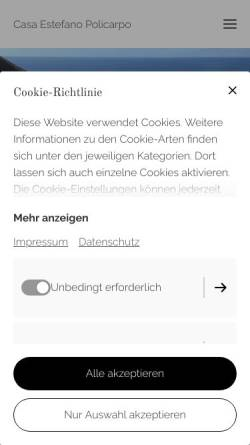 Vorschau der mobilen Webseite www.la-gomera-urlaub.de, Studios Policarpo