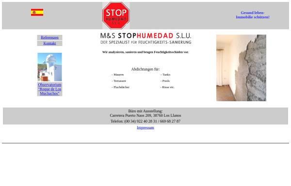 Vorschau von www.stophumedad.com, StopHumedad