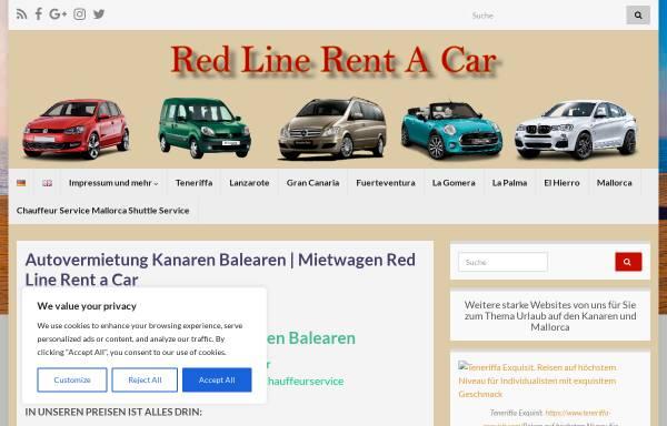 Vorschau von redline-rentacar.com, Redline Rentacar
