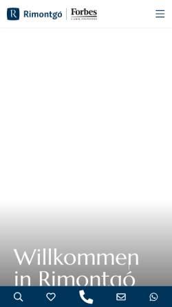 Vorschau der mobilen Webseite www.rimontgo.de, Rimontgo