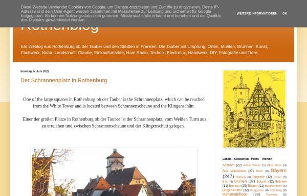 Vorschau von rothenblog.blogspot.de, Rothenblog