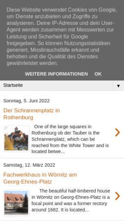 Vorschau der mobilen Webseite rothenblog.blogspot.de, Rothenblog