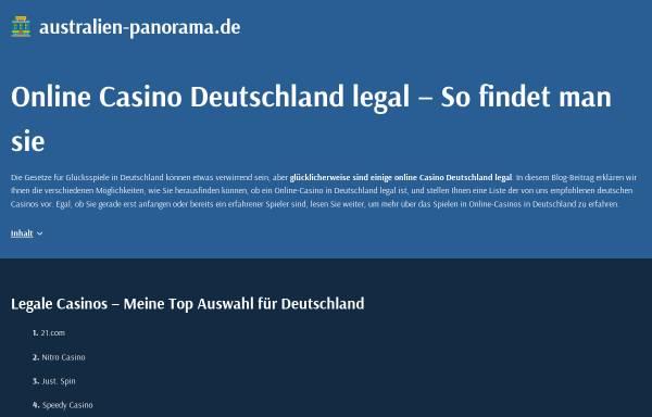 Vorschau von www.australien-panorama.de, Australien Panorma