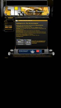 Vorschau der mobilen Webseite www.tuningracers.de, TuningRacers