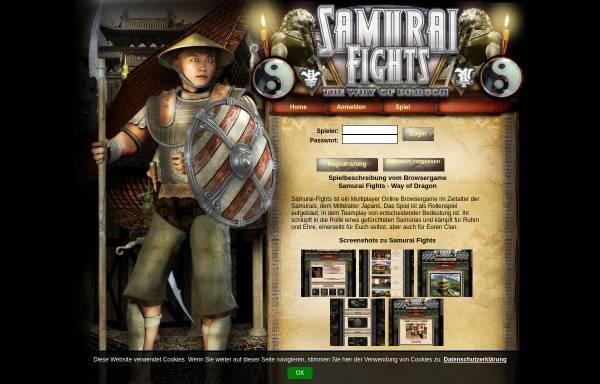 Vorschau von www.samurai-fights.com, Samurai Fights