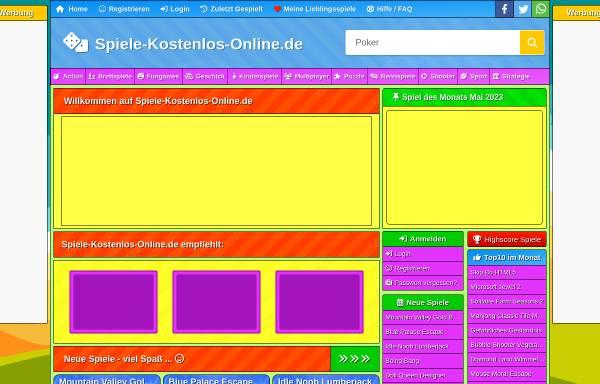 Vorschau von www.spiele-kostenlos-online.de, Spiele-Kostenlos-Online.de