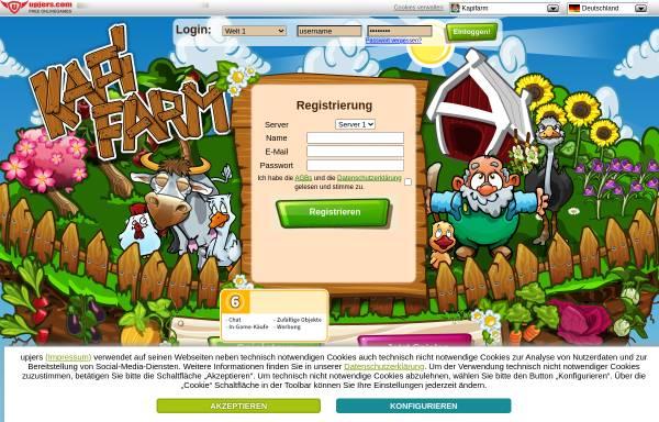 Vorschau von www.kapifarm.de, Kapi Farm