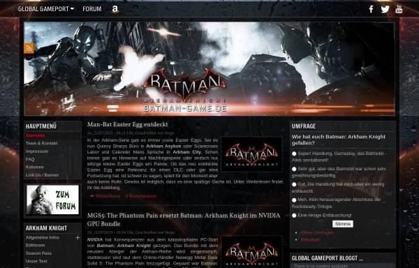 Vorschau von www.batman-game.de, Batman-Game.de