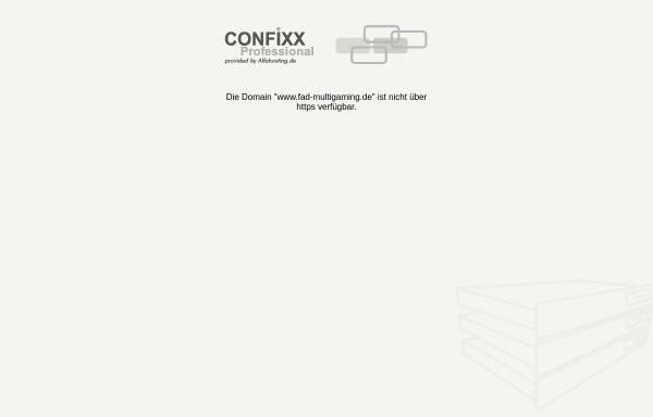 Vorschau von www.fad-multigaming.de, [FAD] Multigaming - Battlefield 4 Clan -Fummelbude