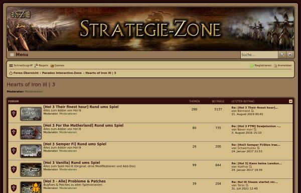 Vorschau von www.strategie-zone.de, Hearts of Iron 3 - Strategie-Zone