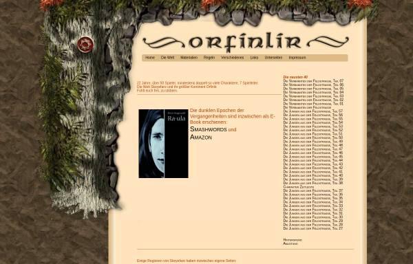 Vorschau von www.orfinlir.de, Orfinlir - die Welt
