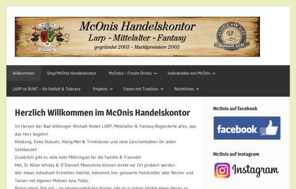 Vorschau von www.mconis.de, McOnis Handelskontor