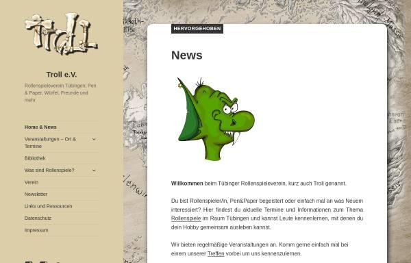 Vorschau von rollenspieleverein-tuebingen.de, Tübinger Rollenspieleverein