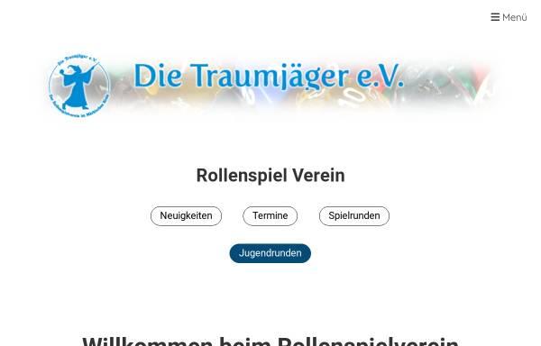 Vorschau von www.die-traumjaeger.de, Die Traumjäger e.V.