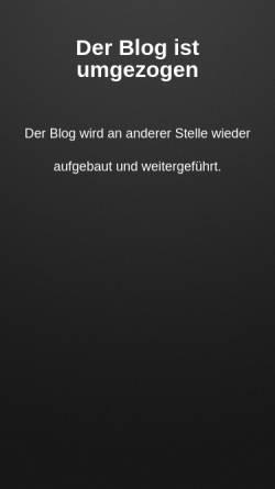 Vorschau der mobilen Webseite www.gelbe-zeichen.eu, Gelbe Zeichen