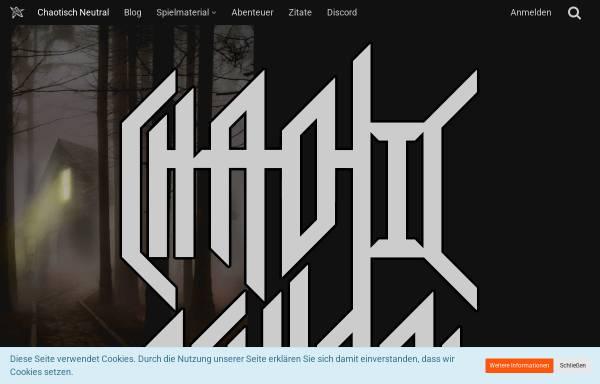 Vorschau von www.chaotisch-neutral.de, Chaotisch Neutral