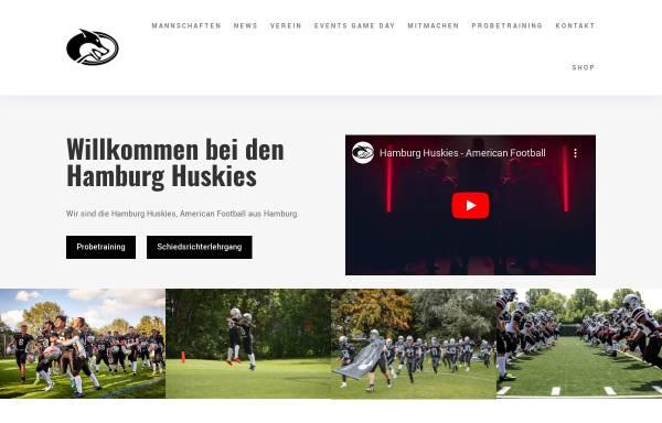 Vorschau von www.gohuskies.de, HTHC Hamburg Huskies