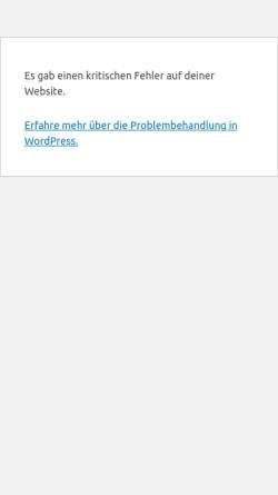 Vorschau der mobilen Webseite www.aktives-abseits.de, Aktives Abseits