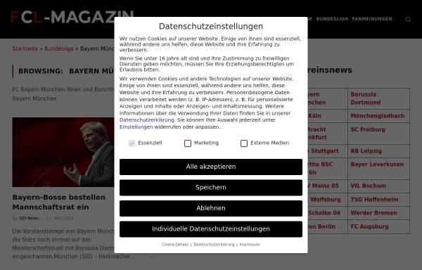 Vorschau von www.bayernboard.de, Bayernboard