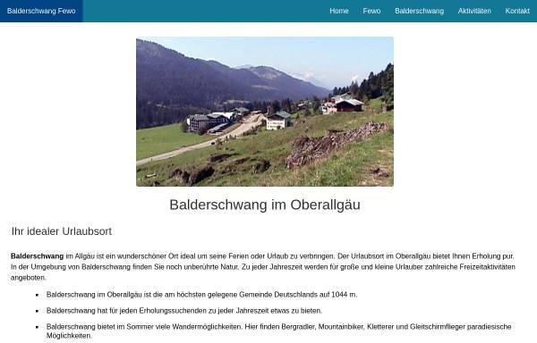Vorschau von www.balderschwang-fewo.de, Ferienwohnung in Gschwend