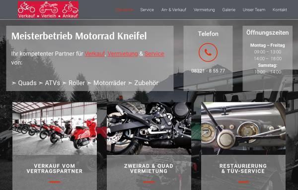 Vorschau von motorrad-allgaeu.de, Firma Herbert Kneifel