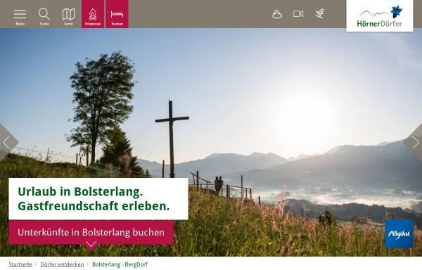 Vorschau von www.bolsterlang.de, Bolsterlang