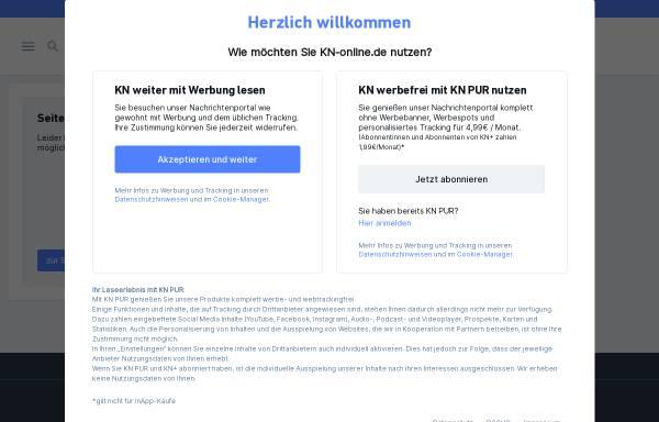 Vorschau von www.kn-online.de, Kieler Nachrichten