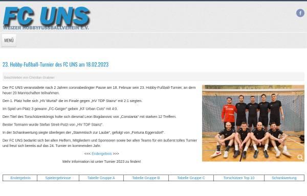 Vorschau von www.uns.at, FC UNS Weiz