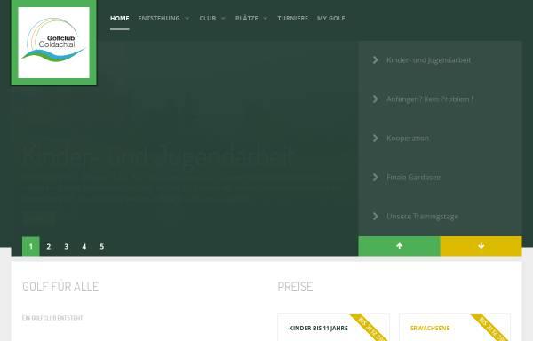 Vorschau von golfclub-goldachtal.de, Golfrclub Goldachtal