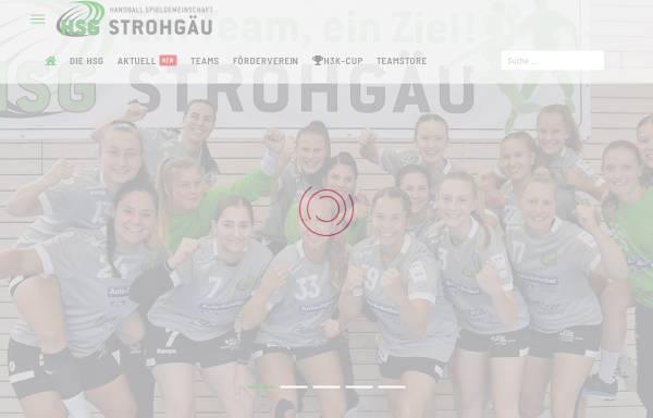 Vorschau von www.hsg-strohgaeu.de, HSG Strohgäu